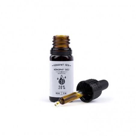 Konopný Táta - CBD olej 20% 10ml