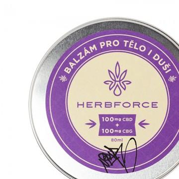 Herbforce balzám cbd